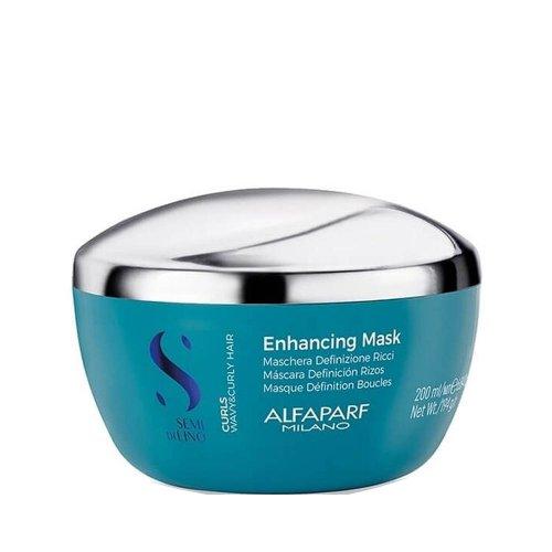 Хидратираща маска за къдрава коса ALFAPARF Semi Di Lino Curls Enhancing Mask 200ml