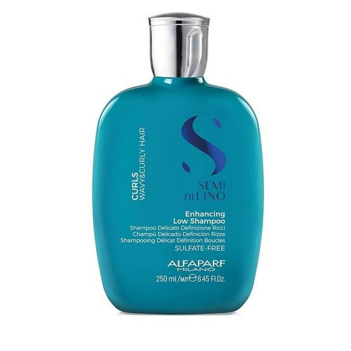Шампоан за къдрава коса без сулфати Alfaparf Semi Di Lino Enhancing Low Shampoo