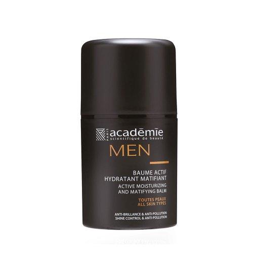 Хидратант за лице с матов ефект за мъже Academie MEN 50 ml