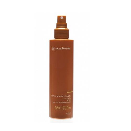 Слънцезащитен спрей за чувствителна кожа SPF 50+ Academie 150ml