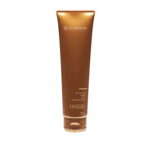Соларни продукти / Academie Bronzecran - Соларно мляко за тяло висока защита UVA-UVB - SPF 30 / Academie Bronzecran 150 мл