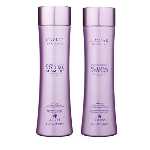 За обем и плътност с хайвер / Caviar volume - Анти ейдж шампоан за плътност и обем / Caviar Anti-Aging Bodybuilding Volume Shampoo 250ml