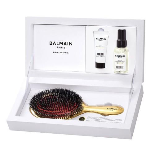 Премиум комплект със златна четка Balmain Golden Spa Brush