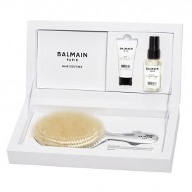 Премиум комплект със сребърна четка Balmain Silver Spa Brush