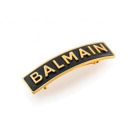Лимитирана златна фиба Balmain Limited Edition Barrette Pour Cheveux M Gold FW20