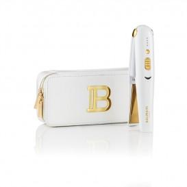 Лимитирана бяла безжична преса за коса Balmain Limited Edition Cordless Straightener
