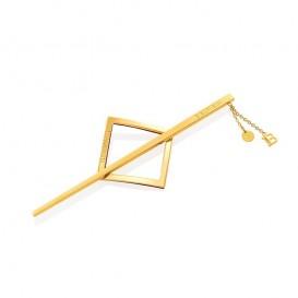 Лимитирана златна барета Balmain limited editon barrette pour cheveux jewelry gold SS21