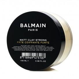 Матираща вакса за коса със силна фиксация Balmain Matt Clay Strong 100ml