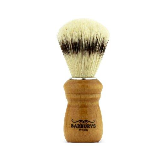 Четка за бръснене с естествен косъм от глиган Barburys CODE - CHERRY