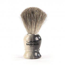 Четка за бръснене с естествен косъм Barburys Grey Horn