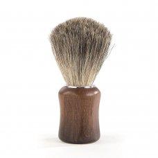 Четка за бръснене с косъм от язовец Barburys Grey Walnut