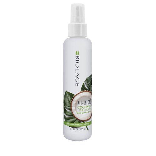 Многофункционален спрей с кокос за всеки тип коса Biolage all in one 150ml