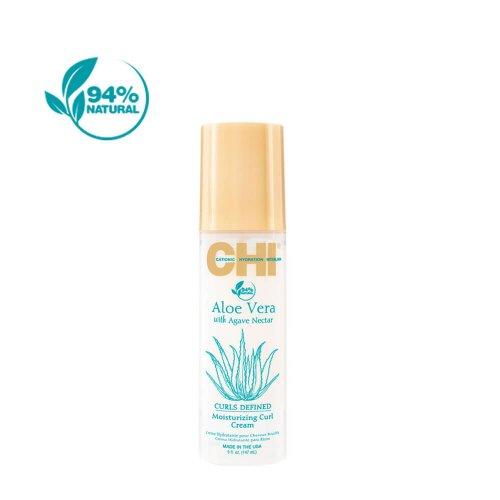 Крем за къдрици с алое вера CHI Aloe Vera Moisturizing Curl Defined Cream 147ml