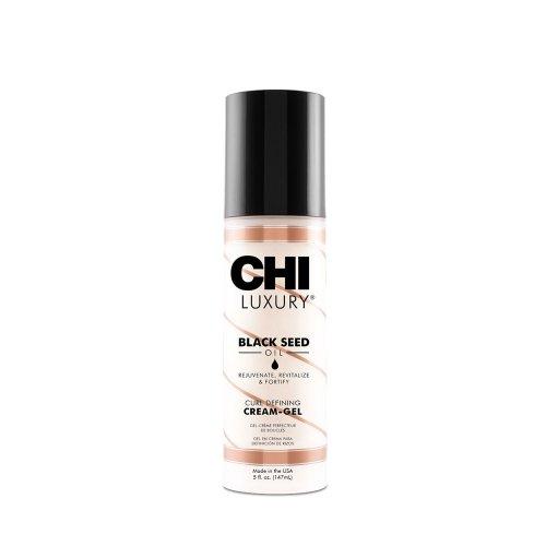 Крем за къдрици с черен кимион - CHI Luxury Black Seed Oil Curl Defining Cream-Gel 148 ml.