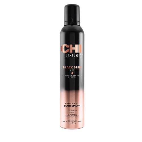 Лак за коса CHI Luxury Black Seed Oil Flexible Hold Hairspray 340 гр.