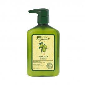 Органичен балсам за коса и тяло с маслиново масло Chi Organic olive 340 ml