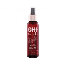 Възстановяващ спрей за боядисана коса CHI Rose hip oil UV protection oil 150ml