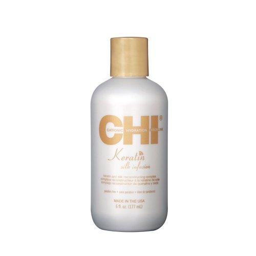 Кристали за коса с кератин и коприна CHI Keratin Silk infusion 177ml.