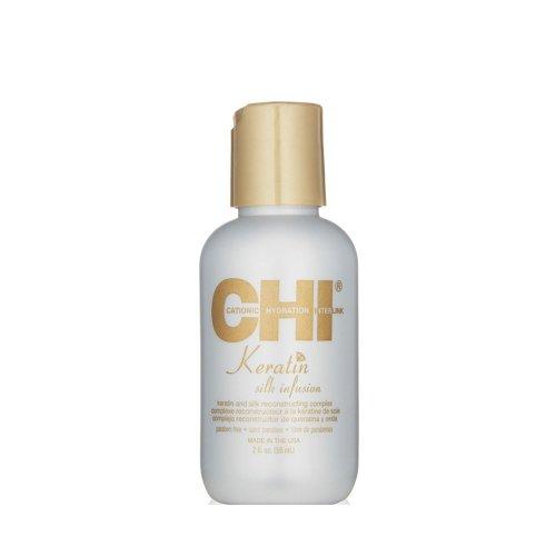 Кристали за коса с кератин и коприна CHI Keratin Silk infusion 59ml.