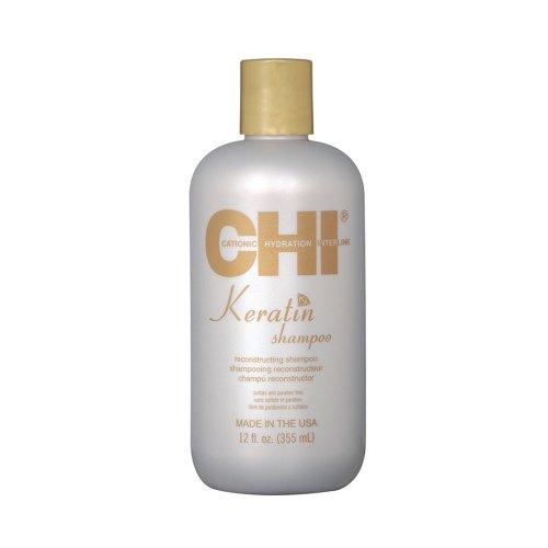 Кератинов шампоан с коприна CHI Keratin shampoo 355ml.