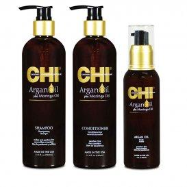 Хидратиращ комплект с арган CHI Argan Oil