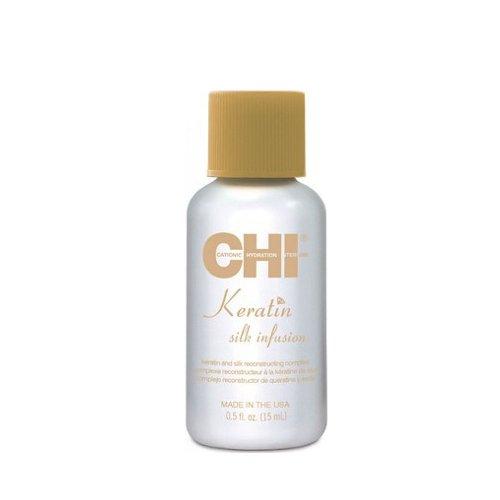 Кристали за коса с кератин и коприна CHI Keratin Silk infusion 15ml.