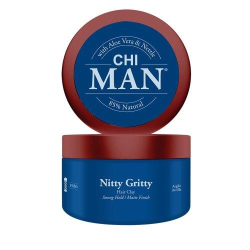 Глина за коса със силна фиксация Chi Man Nitty Gritty 89ml