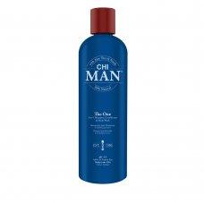 Шампоан, балсам и душ гел за мъже 3 в 1 Chi Man The One 355ml