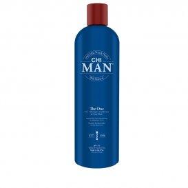Шампоан, балсам и душ гел за мъже 3 в 1 Chi Man The One 739ml