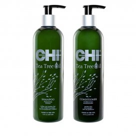 Сет Шампоан и Балсам за чувствителен скалп с чаено дърво CHI Tea Tree Oil