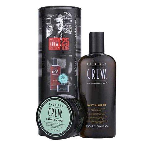 Комплект за мъже Шампоан и крем за коса American Crew Daily Shampoo & Forming Cream Set