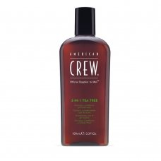 Шампоан, балсам и душ гел с чаено дърво American Crew 450ml