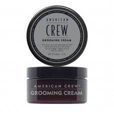 Приглаждащ крем със силна фиксация и силен блясък American Crew Grooming Cream 85g