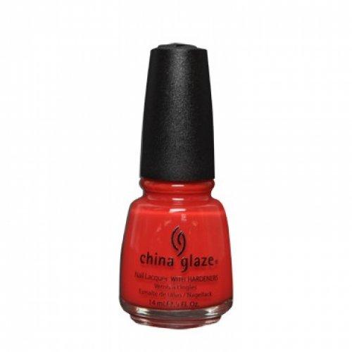 CHINA GLAZE - Лак за нокти  Aztec Orange 14 мл
