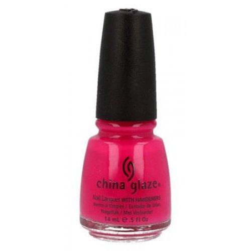 CHINA GLAZE - Лак за нокти  Pink Chiffon  14 мл