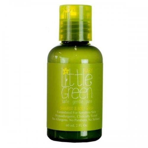 Шампоан и душ гел/ Little Green Baby Shampoo and Body Wash 60мл.