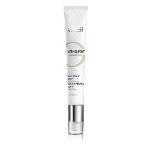 Серия от ретинолови продукти -бръчки, пигментация, проблемна кожа/Retinol Forte - Възстановяващ нощен крем/Night Repair Cream 50ml.