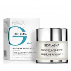 Овлажняващ крем за мазна кожа GIGI Bioplasma Moisturizer Supreme SPF 17 Normal to Oily Skin  50ml