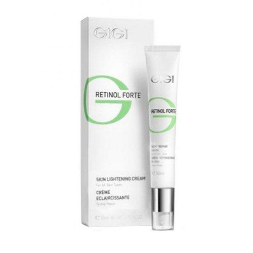 Серия от ретинолови продукти -бръчки, пигментация, проблемна кожа/Retinol Forte - Избелващ крем нощна грижа/Skin Lightening Cream 50ml.