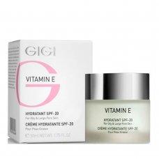 Овлажняващ крем за мазна кожа с вит Е GIGI VITAMIN E SPF 17 50ml.
