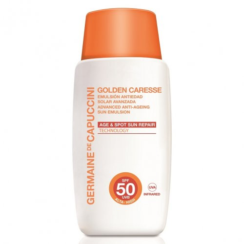 Слънцезащитна Антиейдж Емулсия с Цвят SPF 50 Germaine de Capuccini Advanced 50ml
