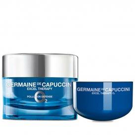 Комплект Защитен крем за лице с кислород + пълнител Germaine de Capuccini 50ml
