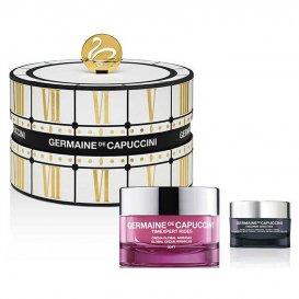 Комплект Антиейдж крем за суха кожа с Възстановяващ за очи Germaine De Capuccini