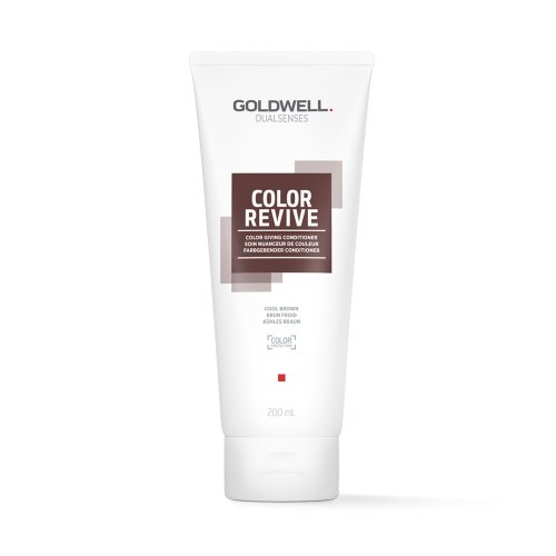 Оцветяващ балсам Студено кафяво Goldwell Color Revive Cool Braun 200ml