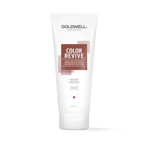 Оцветяващ балсам Топло кафяво Goldwell Color Revive Warm Braun 200ml