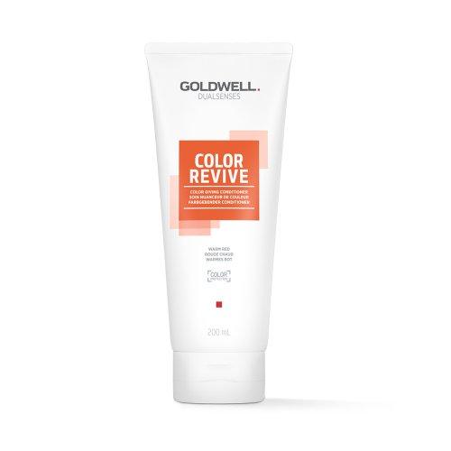 Оцветяващ балсам Топло червено Goldwell Color Revive Warm Red 200ml