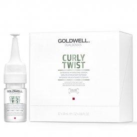 Хидратиращи ампули за къдрава коса без отмиване Goldwell Curly Twist Leave-In Serum 12X18ml