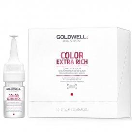 Ампули за фиксиране на цвета при боядисана коса  Godwell Color Extra Rich Color Lock Ser 12x18ml