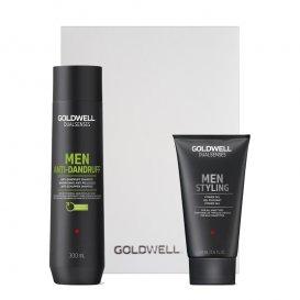 Комплект шампоан и гел за мъже Goldwell Men