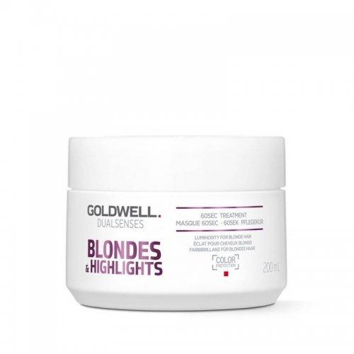 Маска за руса коса и кичури Goldwell Dualsenses Blondes&highlights 60sec Treatment 200ml